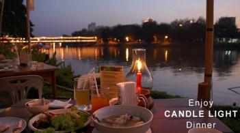 Enjoy Candle Light Dinner